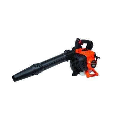 150 MPH 450 CFM 2-Cycle 27cc Gas Handheld Leaf Blower with Vacuum/Mulch Kit