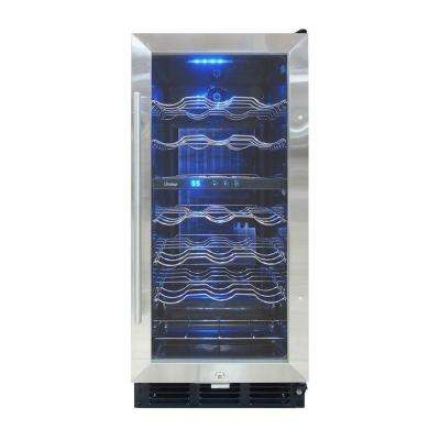 Butler 15 in. 32-Bottle Wine Cooler