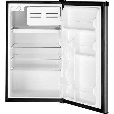 4.4 cu. ft. Mini Fridge in Clean Steel