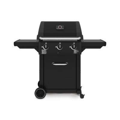 Cast 4200 3-Burner Propane Gas Grill in Black