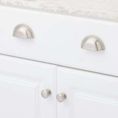 Williamsburg 1-1/4 in. Stainless Steel Cabinet Knob