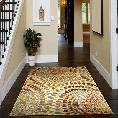 Grace Cream 2 ft. x 7 ft. Plush Indoor Runner Rug
