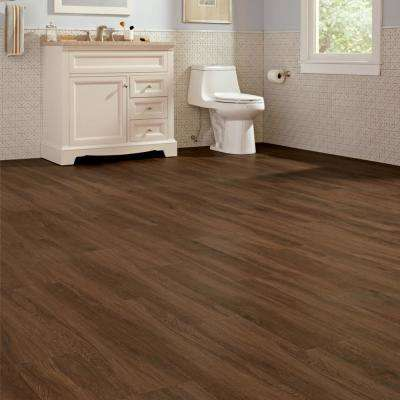 Shadow Hickory 7.1 in. W x 47.6 in. L Luxury Vinyl Plank Flooring (48 cases/899.04 sq. ft./pallet)