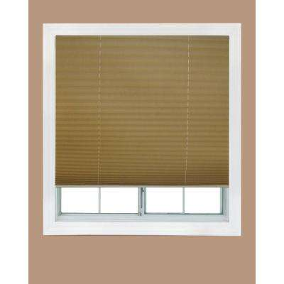 Fabric Corded Light Blocking Pleated Shade