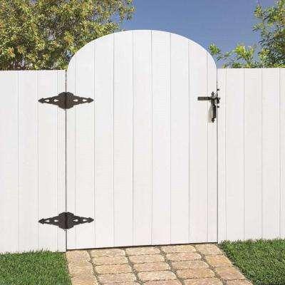 Black Post Latch Gate Set