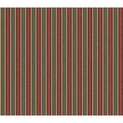 56 sq. ft. Jewel Tone Stripe Wallpaper