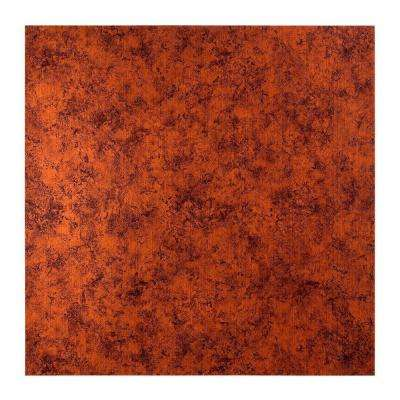 Flat Panel - 2 ft. x 2 ft. Lay-in Ceiling Tile in Moonstone Copper