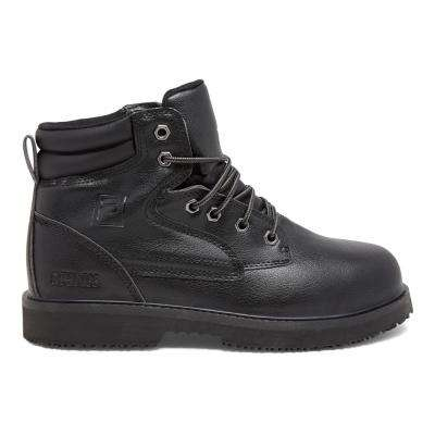 Landing Steel Men Black Synthetic Steel Toe Work Boot