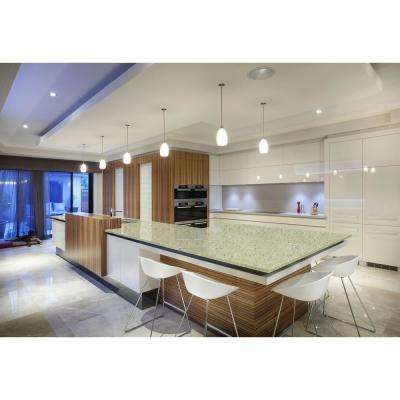 9 ft. 10 in. Solid Surface Countertop in Castello