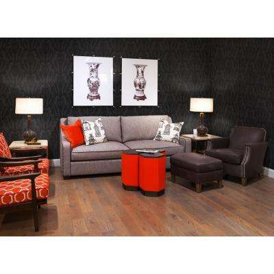 Debut Collection Bull Smoke in Black Removable and Repositionable Wallpaper