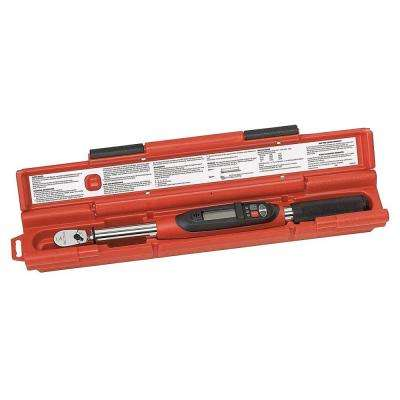 3/8 in. Drive Electronic Torque Wrench