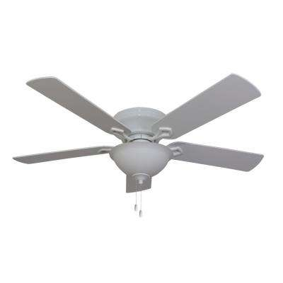 Bennington 52 in. Indoor White Ceiling Fan