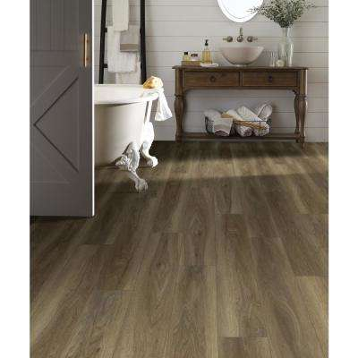 Sydney Clove 7 in. x 48 in. Resilient Vinyl Plank Flooring (18.91 sq. ft. / case)