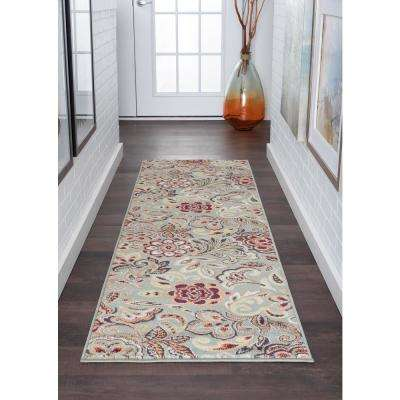 Deco Seafoam 2 ft. x 7 ft. Runner