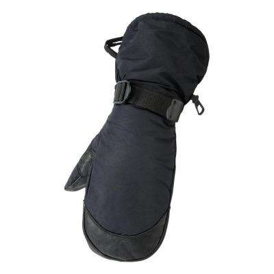 Deerskin Gauntle Black Glove Mitt