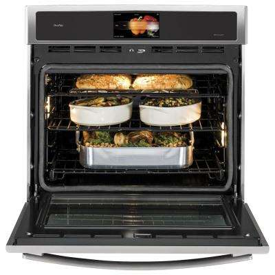 Profile 30 in. Single Electric Convection Wall Oven Self-Cleaning in Stainless Steel