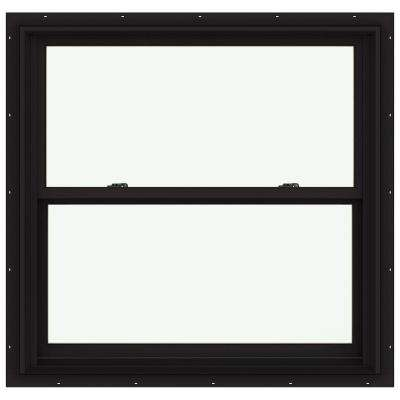 38.125 in. x 36.75 in. W-2500 Double Hung Clad Wood Window