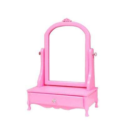 Mill Valley Vanity with Mirror in Pink