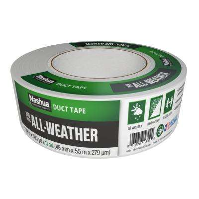 1-7/8 in. x 60 yd. 398 All-Weather HVAC Duct Tape in White