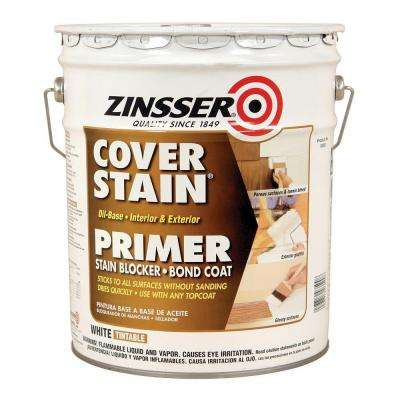 Cover Stain White Oil-Based Interior/Exterior Primer and Sealer
