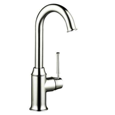 Talis C Single-Handle Bar Faucet in Polished Nickel