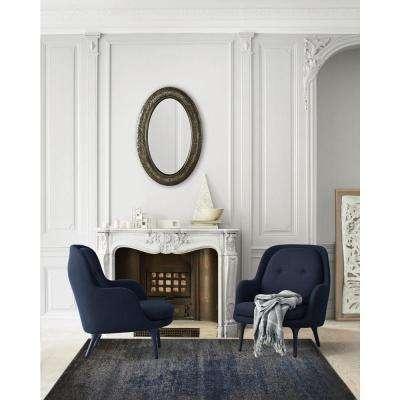 Azure Gray/Blue 5 ft. x 7 ft. Indoor Area Rug