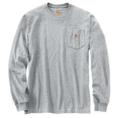 Men's Cotton/Polyester Long-Sleeve T-Shirt
