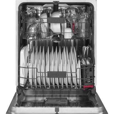 Cafe Top Control Dishwasher in Stainless Steel with Stainless Steel Tub and Third Rack
