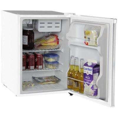1.6 cu. ft. Mini Refrigerator in White