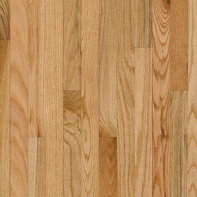 Plano Oak Country Natural 3/4 in. Thick x 2-1/4 in. Wide x Random Length Solid Hardwood Flooring (22 sq. ft. / case)