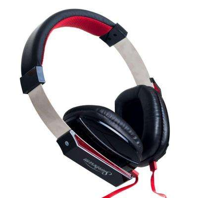 Stereo Big Bass Headphones with Microphone