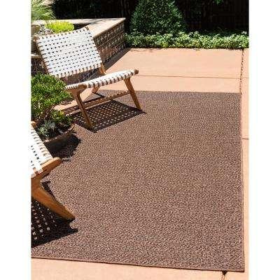 Outdoor Links Brown 5' 3 x 8' 0 Area Rug