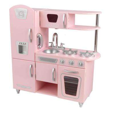 Pink Vintage Kitchen Playset