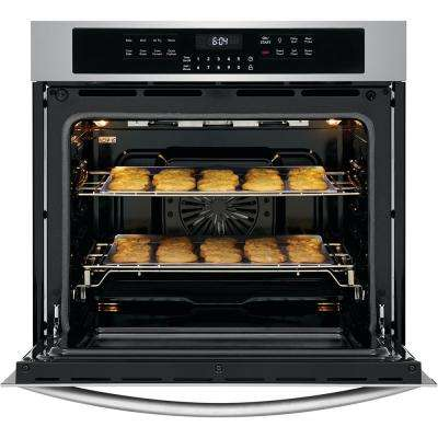 30 in. Single Electric Wall Oven with Air Fry Technology and Self-Cleaning in Stainless Steel