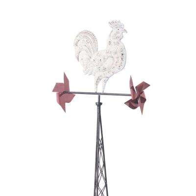 Rustic Rooster Weather Vein Garden Stake