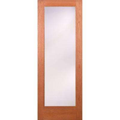 Privacy Woodgrain 1 Lite Unfinished Cherry Interior Door Slab  sc 1 st  The Home Depot & Slab Doors - Interior u0026 Closet Doors - The Home Depot