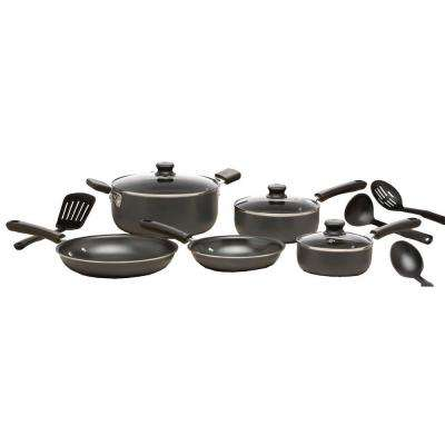 Admiration 12-Piece Gray Cookware Set with Lids