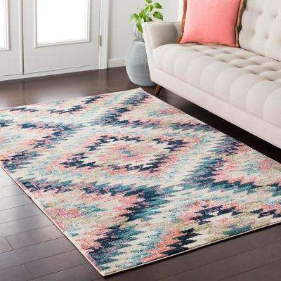 Ariane White 2 ft. x 3 ft. Indoor Area Rug