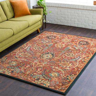 Macael Rust 3 ft. x 7 ft. Runner Rug