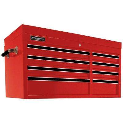 Professional 41 in. 8-Drawer Top Chest, Red