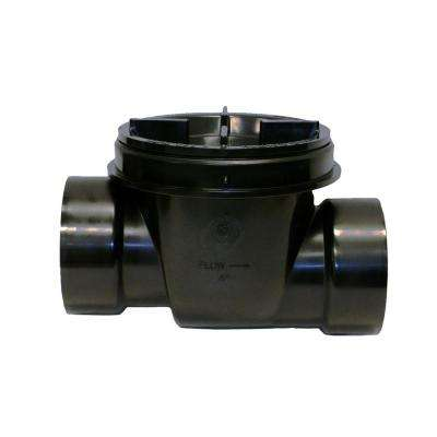 4 in. ABS Backwater Valve