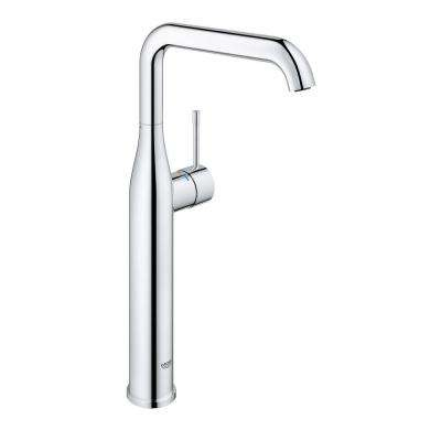 Essence New XL-Size Single Hole Single-Handle Vessel Bathroom Faucet in StarLight Chrome