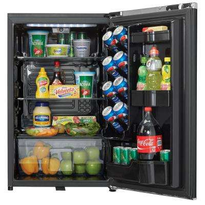 Contemporary Classic 4.4 cu. ft. Mini Fridge in Midnight Metallic Black