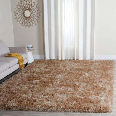 Arctic Shag Taupe 5 ft. x 7 ft. Area Rug