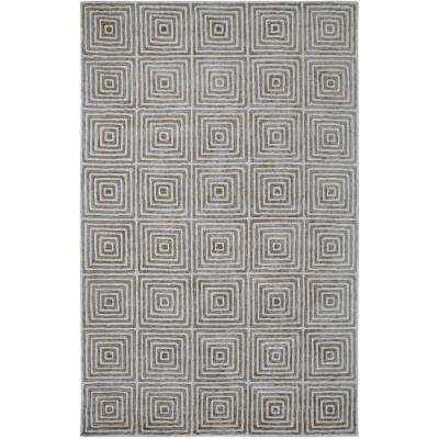 Celeste Ivory/Grey 2 ft. x 4 ft. Indoor Area Rug