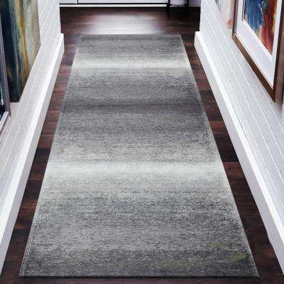 Jewel Gray / Beige 3 ft. x 7 ft. Indoor Runner Rug