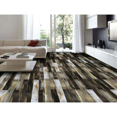 COLORS Floor and Wall DIY Old Desert Bronze 6 in. x 36 in. Multi-Tonal Glue Down Luxury Vinyl Plank (30 sq. ft. / case)