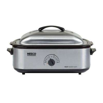 Professional 18-qt. Roaster Oven, Stainless Steel