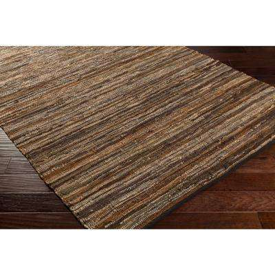 Jeremias Dark Brown 8 ft. x 10 ft. Area Rug