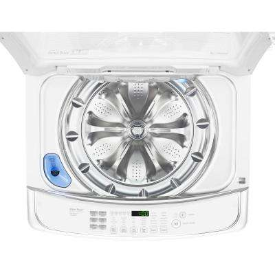 5.0 cu. ft. Smart Top Load Washer with WiFi Enabled in White, ENERGY STAR